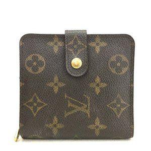 Auth Louis Vuitton Portefeuille Wallet #3383X37